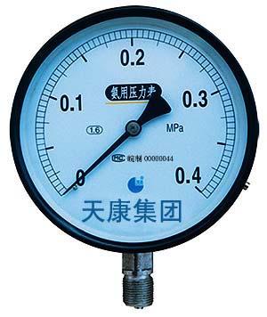 点击查看产品:YA-100、150氨气压力表